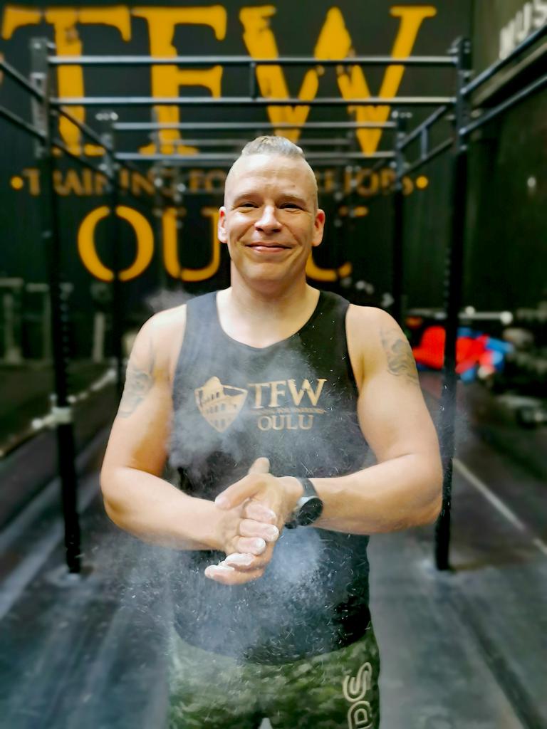 TFW Oulun valmentaja Jukka-Pekka Hyvärinen